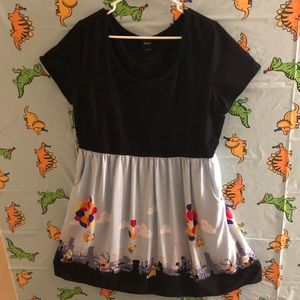 Disney UP dress size 2x Torrid 2 with pockets!
